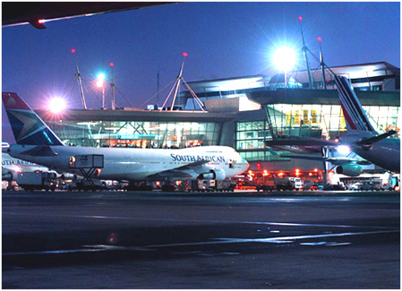 OR Tambo International Airport johannesburg