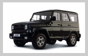 UAZ Hunter 4x4 vehicle rentals