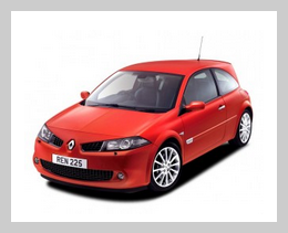 renault megane sport hatchback car hire