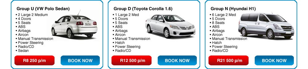 Monthly Car Hire