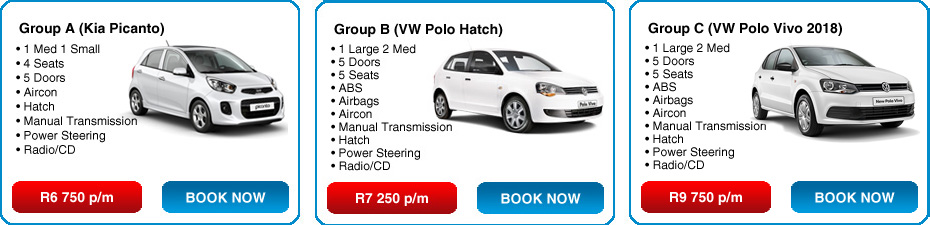 Long Term Car Rental Durban South Africa